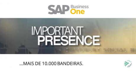 SAP Business One - Mais de 10.000 bandeiras.