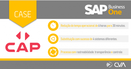 [CVA] Case SAP Business One - CAP Logística Frigorificada