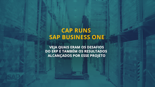 CAP Runs SAP Business One