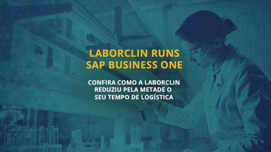 capa post sobre Laborclin Runs SAP Business One
