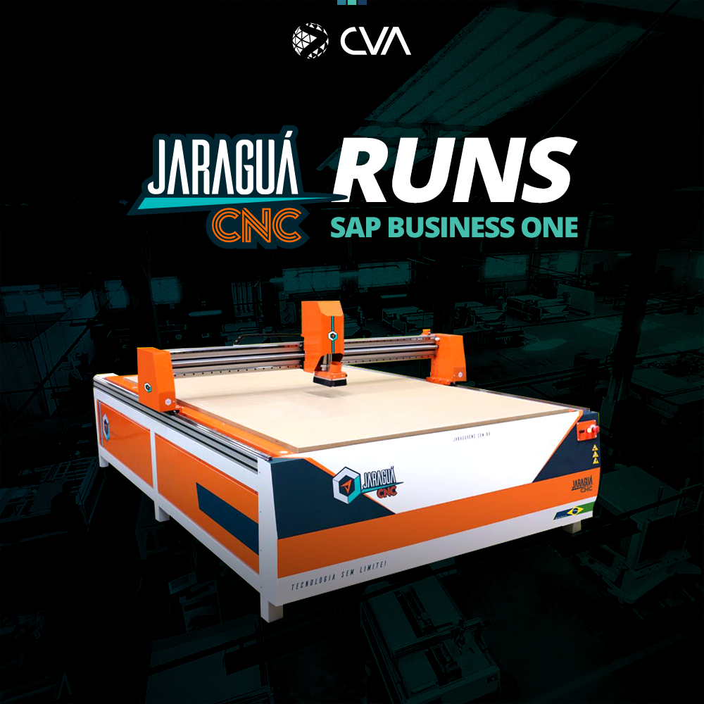 Jaraguá CNC RUN SAP BUSINESS ONE